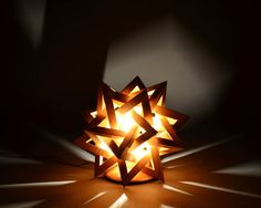 Starburst Illuminated sculptures by JPGWoodworking on Etsy, $1100.00