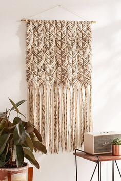 Marled Macrame Oversized Wall Hanging