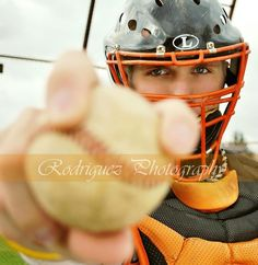 Image result for baseball catcher senior pictures