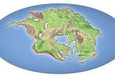 size: Photographic Print: Continental Drift After 250 Million Years by Mikkel Juul : Fantasy World Map, Plate Tectonics, Fine Art Prints, Canvas Prints, Science Photos, Fantasy Setting, Tropical Art, Ways Of Seeing, Fantasy Landscape