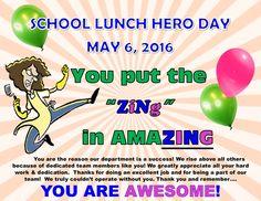 How Pasco County Schools Celebrated School Lunch Hero Day | Pasco County Schools
