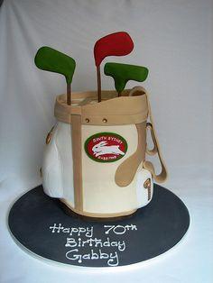 Golf Bag Cake   by cakeladycakes, via Flickr