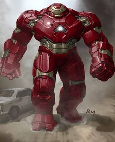 AVENGERS: AGE OF ULTRON Concept Art Features Alternate 'Hulkbusters' And 'Vision' Designs