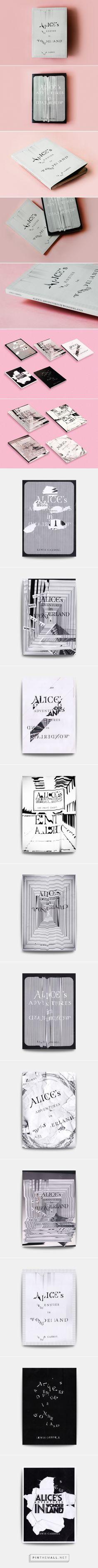 Alice's Adventures in Wonderland | Book cover design on Behance by Frankie . https://www.behance.net/gallery/25047705/Alices-Adventures-in-Wonderland-Book-cover-design