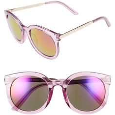 Women's A.j. Morgan Cat D 53Mm Sunglasses (€23) ❤ liked on Polyvore featuring accessories, eyewear, sunglasses, lightweight sunglasses, retro glasses, cat-eye glasses, a.j. morgan eyewear and retro style sunglasses