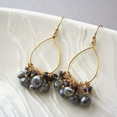 cluster jewelry ~~~http://bit.ly/1yLXtea