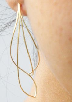 Earrings | Daniella Saraya. Gold