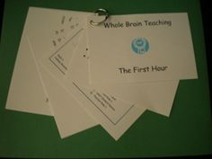 Whole Brain Teaching - First Hour Cue Cards on TpT from Deanna Schuler