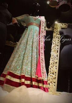 Portfolio of Megha and Jigar Pakistani Couture, Indian Couture, Pakistani Outfits, Indian Outfits, Indian Gowns, Indian Attire, Indian Bridal Wear, Indian Wear, Lehenga Wedding