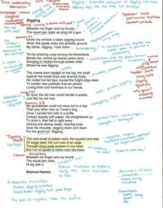 How to interpret a poem for high school students - using annotation to teach close reading. This a good pin because it is an intricate example of analyzing a poem which students could use as an example. Ap Literature, Teaching Literature, English Literature A Level, British Literature, English Writing, Teaching Poetry, Teaching Reading, Learning, Teaching Ideas