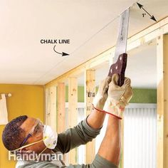 how to fix crack in a load baring wall