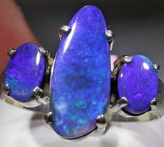 RING SIZE 9 SOLID OPAL FACTORY DIRECT [SOJ4721]SH  black opal ring, opal ring , silver  opal ring