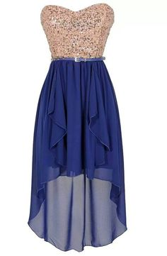 I like this but with silver on top and varying colors on bottom for my bridesmaids