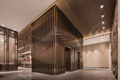 Huafa & City Hub Wuhan Sales Center by Shenzhen Rongor Design & Consultant Co. Wuhan  China