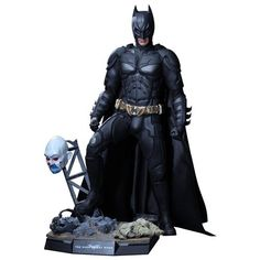 "The Dark Knight Rises Batman 1:4 Scale 18.5"" Figure By Hot Toys"