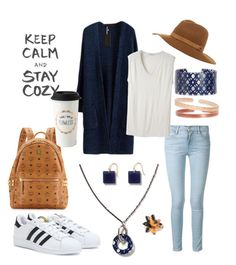 """Stay Cozy"" by dayle-burton ❤ liked on Polyvore featuring Frame Denim, adidas, MCM, T By Alexander Wang and rag & bone"