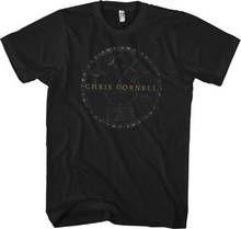 1dd8ebd9a4 Chris Cornell T-shirt - Chris Cornell Solar System Logo. Men s Black Shirt  Camisa