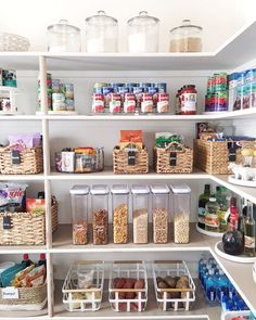 A sneak peek into the pantry we have been in the last few days! Prepping for Thanksgiving meals has never been so easy. Catch the full breakdown on our IG story to give you all the feels like it has given us. #pantrygoals http://liketk.it/2pFCt @liketoknow.it #liketkit