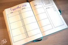 Planning mensuel septembre 2016