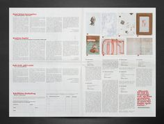 "The catalogue for the charity ""Kunstasyl"" was printed over 9000 times and distributed with the newspaper ""Der Standard"". Newspaper, Charity, Catalog, Bullet Journal, Prints, Creative"