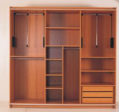 Wooden Wardrobe Design (For