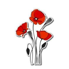 Flower Images, Flower Art, Poppy Images, Art Flowers, Poppy Drawing, Human Anatomy Drawing, Drawing Lessons For Kids, Poppies Tattoo, Pebble Painting