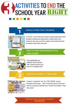 """Don't let the classroom FUN fizzle as the school year comes to an end! There are PLENTY of ways to keep your students ENGAGED until the FINAL BELL RINGS FOR SUMMER!!  I'm offering three of my best-selling """"End of the Year"""" activities at a discounted price for a limited time! These can also be easily adapted/used THROUGHOUT THE SCHOOL YEAR!"""
