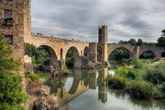Besalu Bridge - Costa Brava - Spain