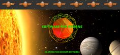 """SOFTWARE RVG: 3D Animation javascript and svg """"Meteor Orbit"""" by ..."""