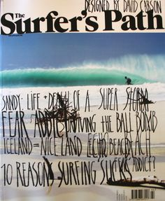 David Carson - (1920 x 2340), Surfers Path Magazine issue 96 - oceanoutfitters.co.nz