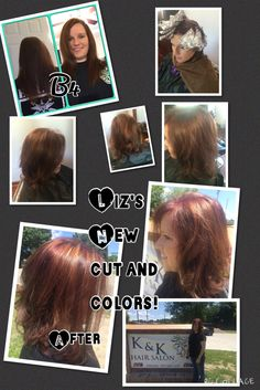 New cut & colors for Liz