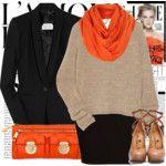 A pop or orange