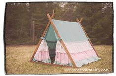 Pretty a frame tent
