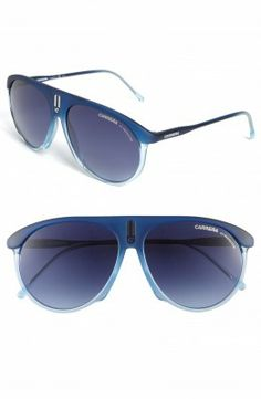Óculos Carrera Men's Eyewear 58mm Aviator Sunglasses Blue #Carrera#Óculos