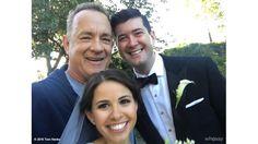 気さくすぎる!ジョギング中のトム・ハンクス、結婚式に飛び入り参加「やあやあ、おめでとう」