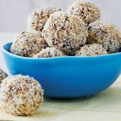 Delicious superfood snack recipes: How to make healthy Lemon Drop Energy Balls | Health.com