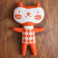 handmade cat doll