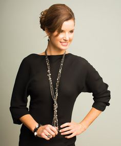 Cocktail Hour: Add a dash of sparkle to your #LBD for a classic look. #Silpada #WomensFashion