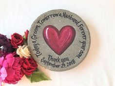 HEART Mother of the Groom Gift- Parents of the Bride Gift, Parent Wedding Gift, Mother of the Bride Gift, Mother of the Groom Gift, Wedding by samdesigns22 on Etsy