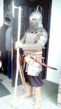 XI th century Rus heavy armour warrior
