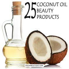 25 DIY beauty products using Coconut Oil / Milk - ♥ IndianBeautySpot.Com ♥