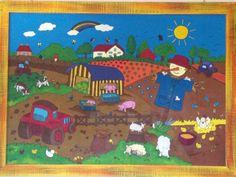 Dipinto fattoria