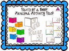 The Book Bug: Parts of a Book Aurasma Style! Parts Of A Book, The Book, Literacy Skills, Media Center, Augmented Reality, Book Activities, Teacher Pay Teachers, Bug Parts, Classroom