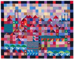 Browse our gallery of handwoven tapestries for sale that are designed and woven by tapestry artist Ulrika Leander. Contemporary Tapestries, Tapestry Weaving, Loom Weaving, Hand Weaving, Fiber Art, Picture Frames, Quilts, Blanket, Quilt