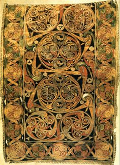 Book of Durrow (carpet page), 650-700