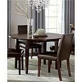 Addison Dining Room Furniture, 5 Piece Set (Round Dining Table and 4 Chairs)