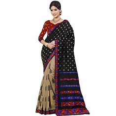 Ustaad Women's Nylon Silk Embroidery Designer Saree With ... https://www.amazon.com/dp/B013HXY4HQ/ref=cm_sw_r_pi_dp_x_Cdr6xbP7SP3TF