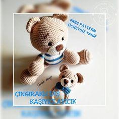 Free ideas every day Amigurumi For Beginners, Amigurumi Tutorial, Amigurumi Toys, Totoro, Sloth, Giraffe, Free Pattern, Pokemon, Turtle