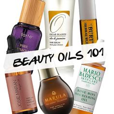 BEAUTY OILS 101 Everything You Need to Know  Pampadour
