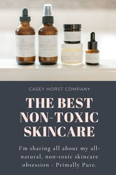 Here's my newest obsession: Primally Pure. They're an all-natural, non-toxic skincare company that truly wants to help you care for yourself. And aren't we all about self-care these days anyway?